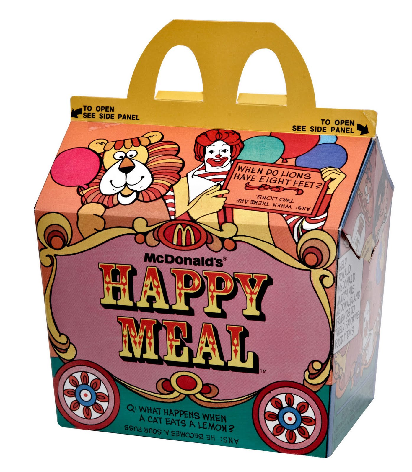 Préférence 17 ORIGINAL HAPPY MEAL BOX, MEAL HAPPY BOX ORIGINAL | HappyMeal OZ95