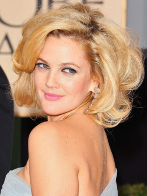 Drew Barrymore Hairstyle 10