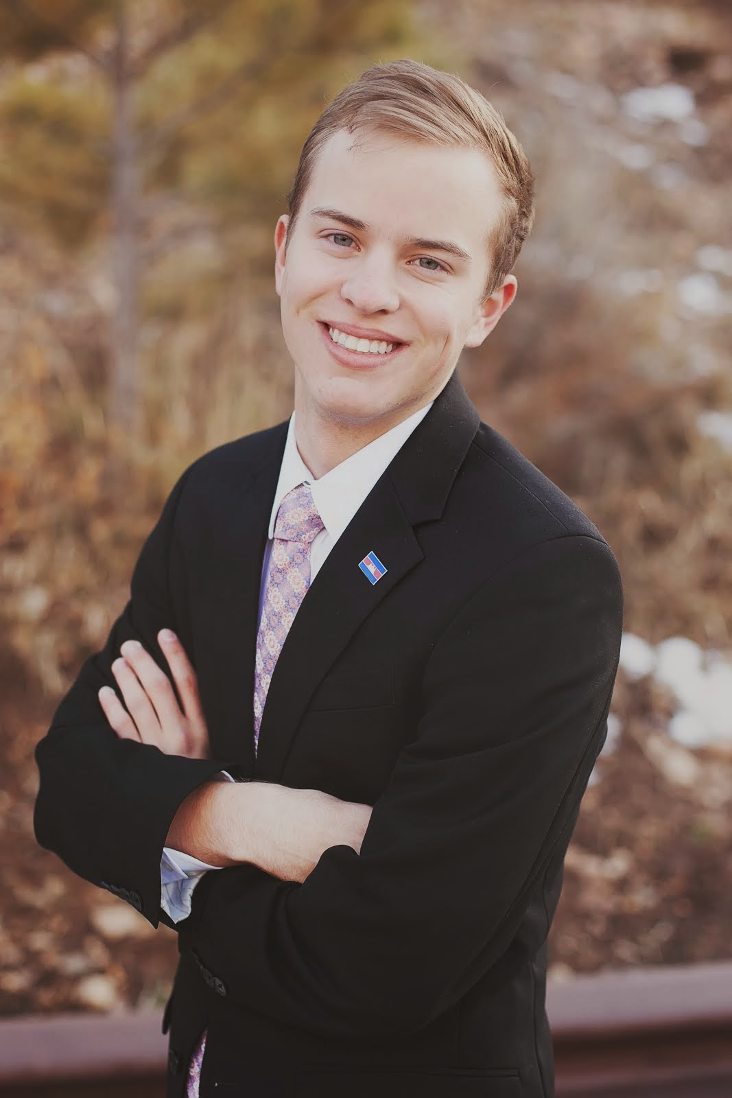 Click on Elder Neuberger's picture to find out more about what missionaries do