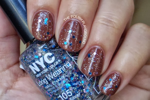New York Color Starry Silver Glitter