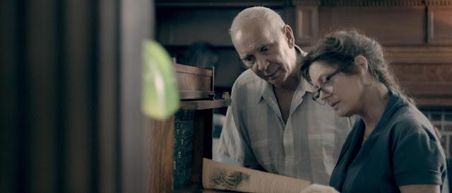 Susan Sarandon and Frank Langella film