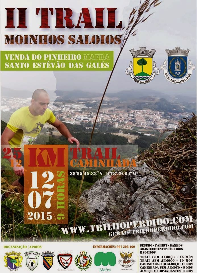 Trail Moinhos Saloios 12 de Julho de 2015