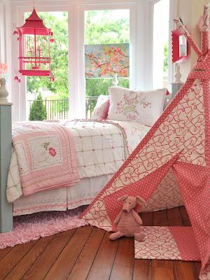dormitorio niña color rosa
