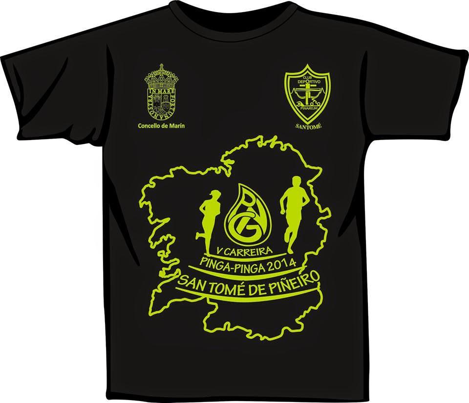 Camiseta Pinga-Pinga 2014