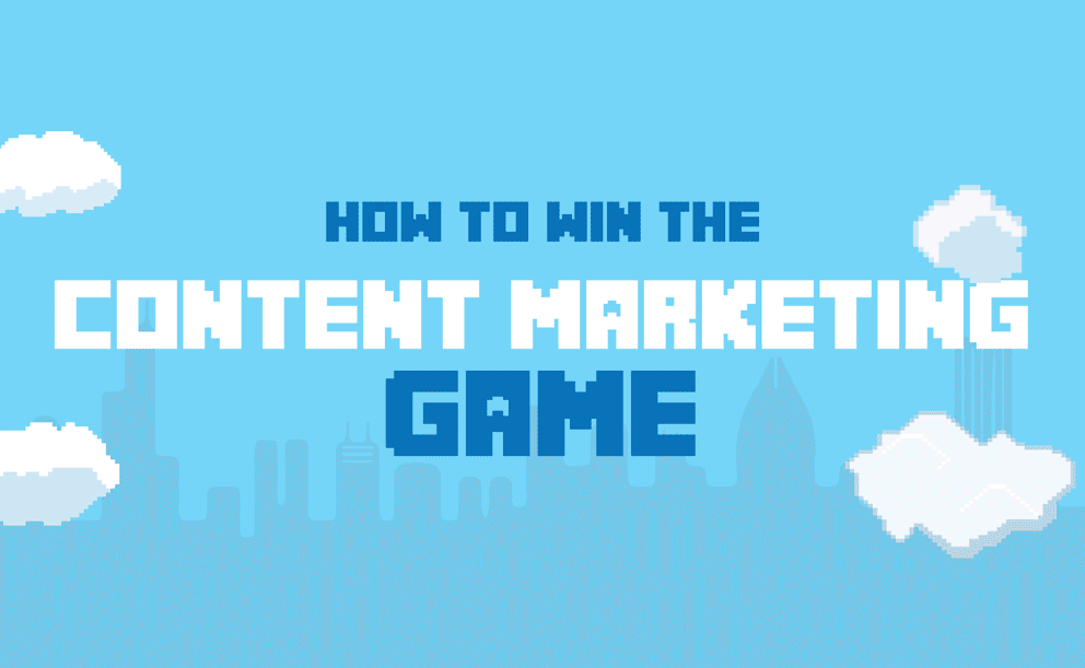How To Win the Content Marketing Game - #infogif #contentmarketing