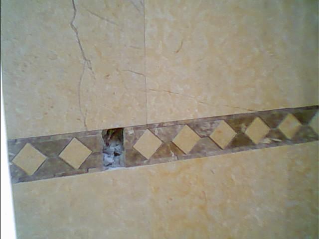 Baño De Tina Con Romero:baño de marmol con plafonde marmolen una sola pieza baño con cenefa