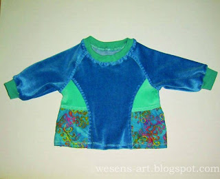 blue baby sweater     wesens-art.blogspot.com