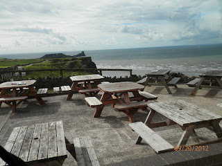Worms Head Swansea Copyright 2012 Kaliani Devinne