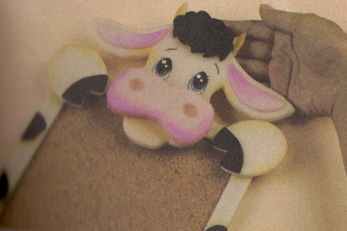 Cara de vaca en foami - Imagui