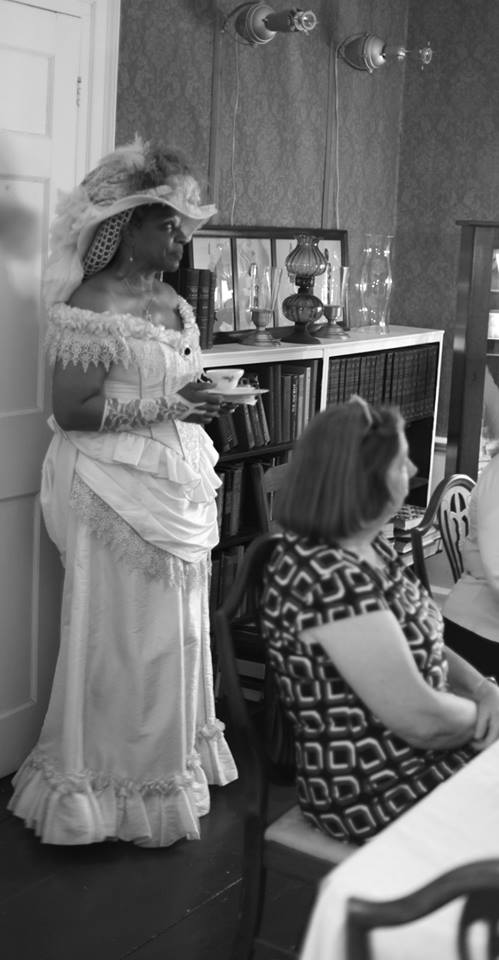 Victorian Tea Lady of Providence