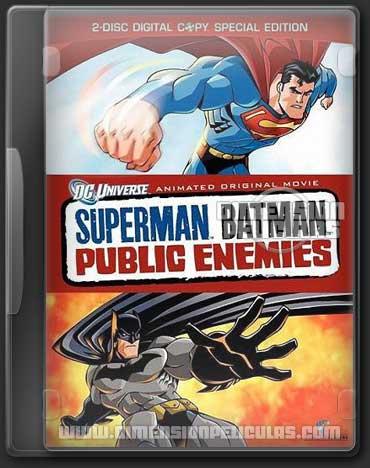 Superman/Batman: Enémigos Públicos (DVDRip Español Latino) (2009)