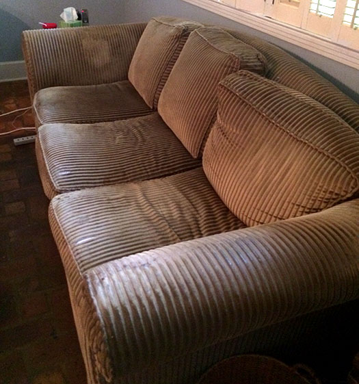 Crafty Hope: Sectional Sofa Storytime