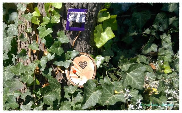 domek wróżki w drzewie