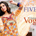 Five Star Digital Vogue Embroidered Collection 2014 | Digital Vogue Embroidered Spring-Summer Suits