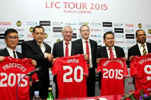 Liverpool Malaysia tour 2015