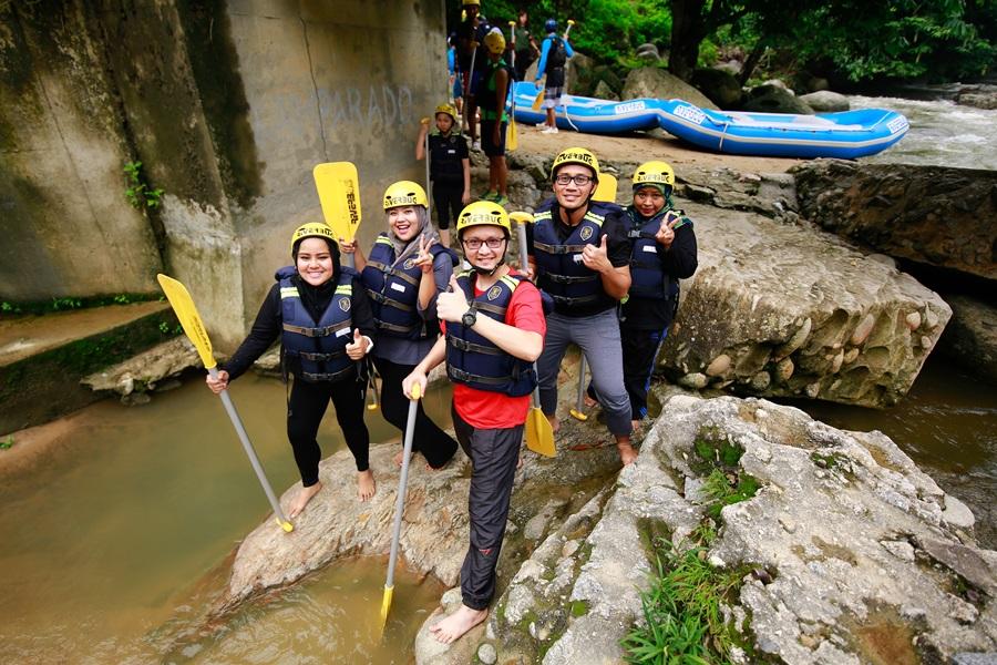 Water Rafting Sungai Kampar, Gopeng, Perak