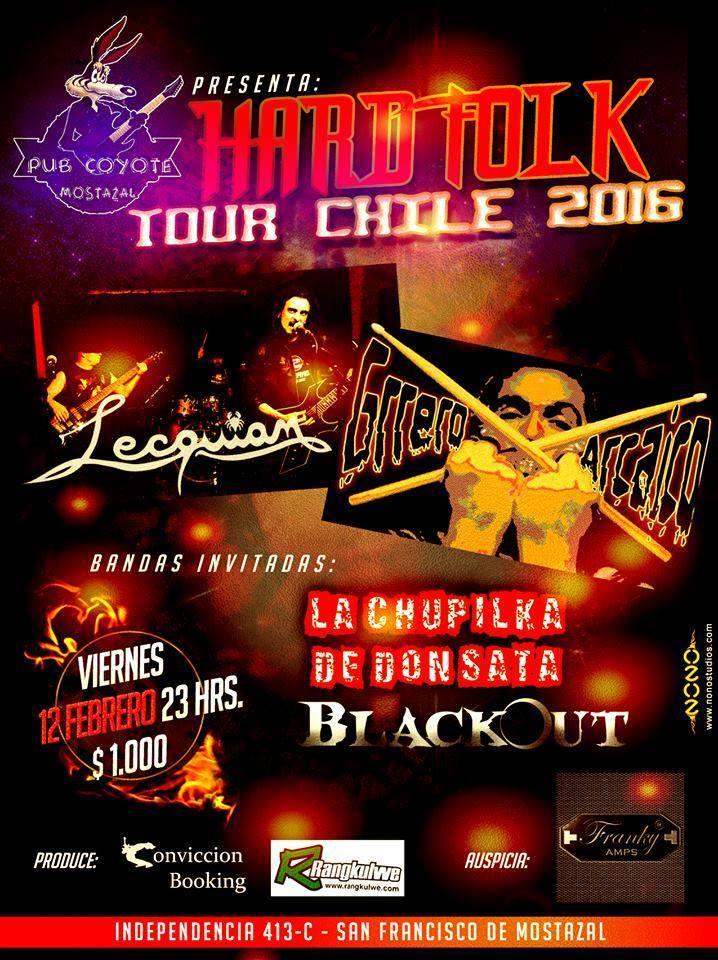 HARD FOLK TOUR CHILE 2016