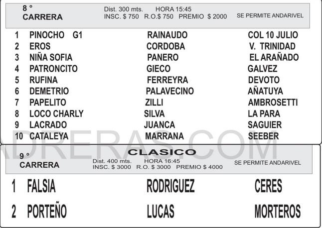 MORTEROS 8 9