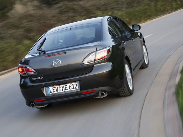 Mazda 6 sedan back picture