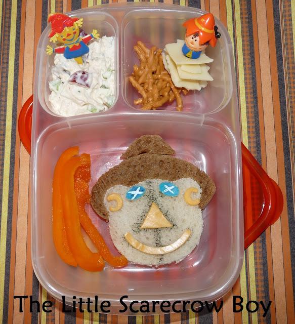 cutezcute scarecrow easylunchboxes