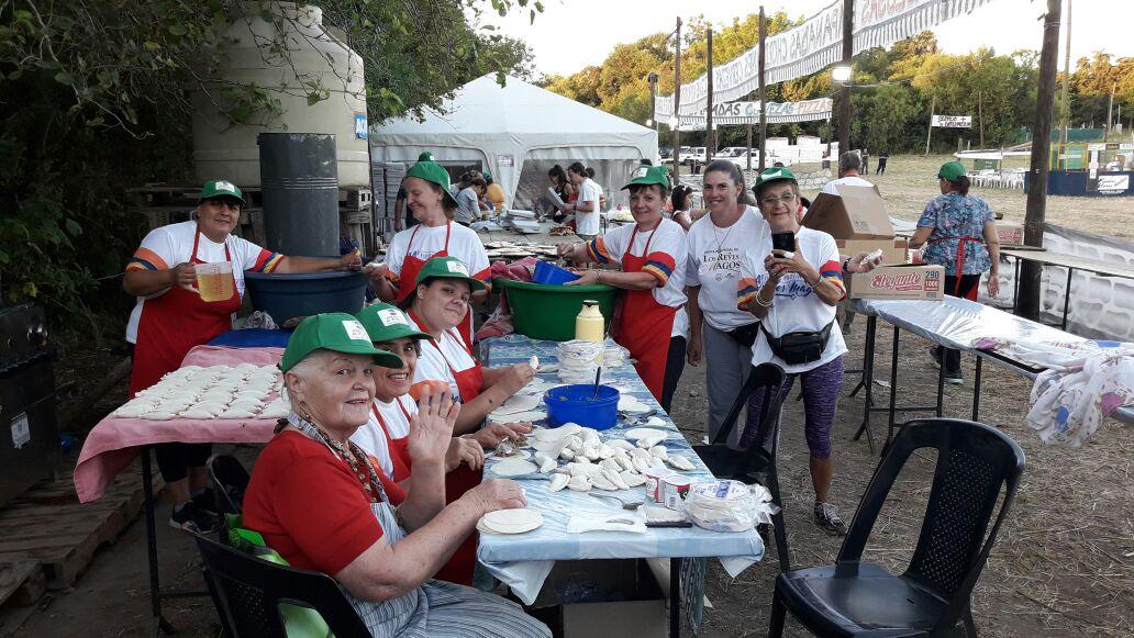 Grupo de Cocineras, sección empanadas