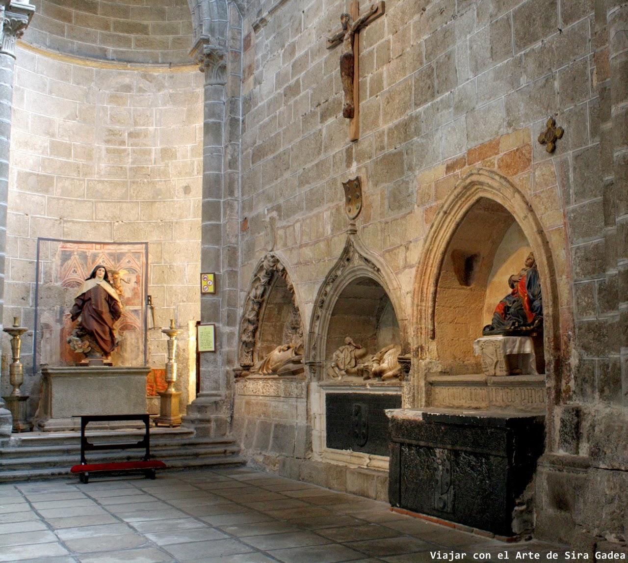 Sepulcros Dávila catedral Ávila