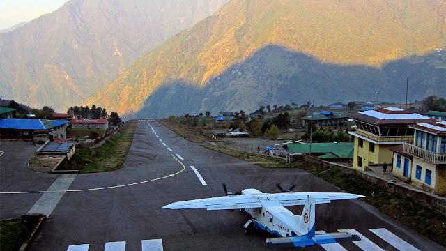 Aeropuertos peligrosos: Lukla, Nepal