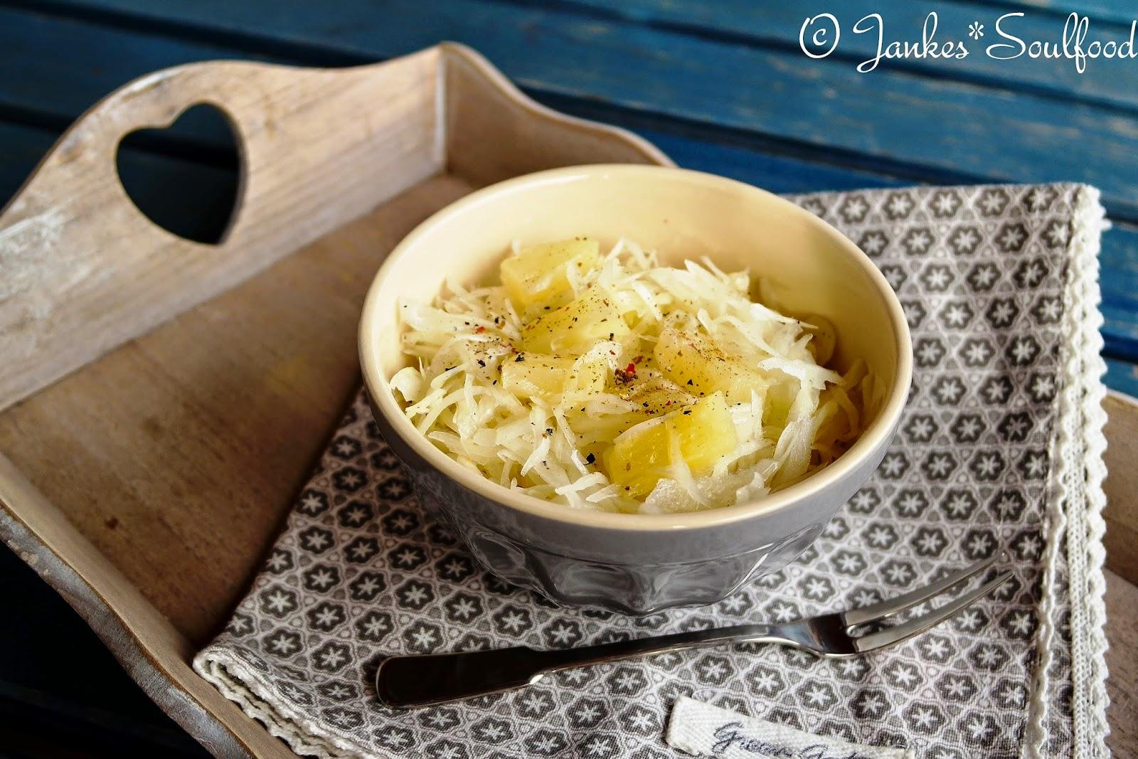 Krautsalat mit Ananas - Jankes Soulfood