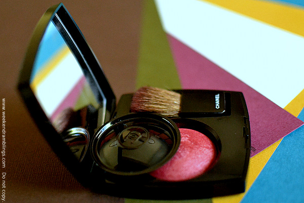 chanel byzance fall 2011 collection joues contraste blush powder rouge reviews ingredients fotd makeup looks swatches