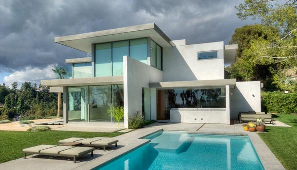 The best houses in el salvador for Fachadas de casas modernas en honduras