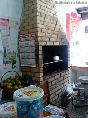 Restaurante Hubin: Churrasqueira
