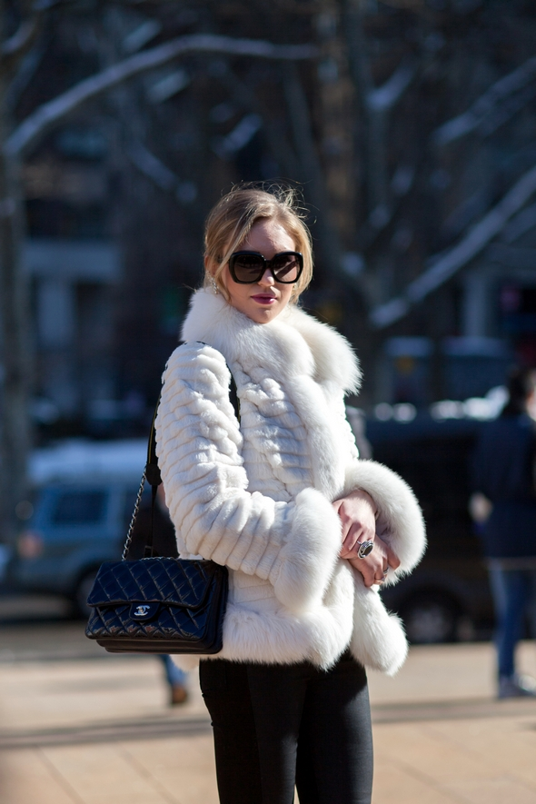white fur coat new york street style new york womens fashion the stylepreneur