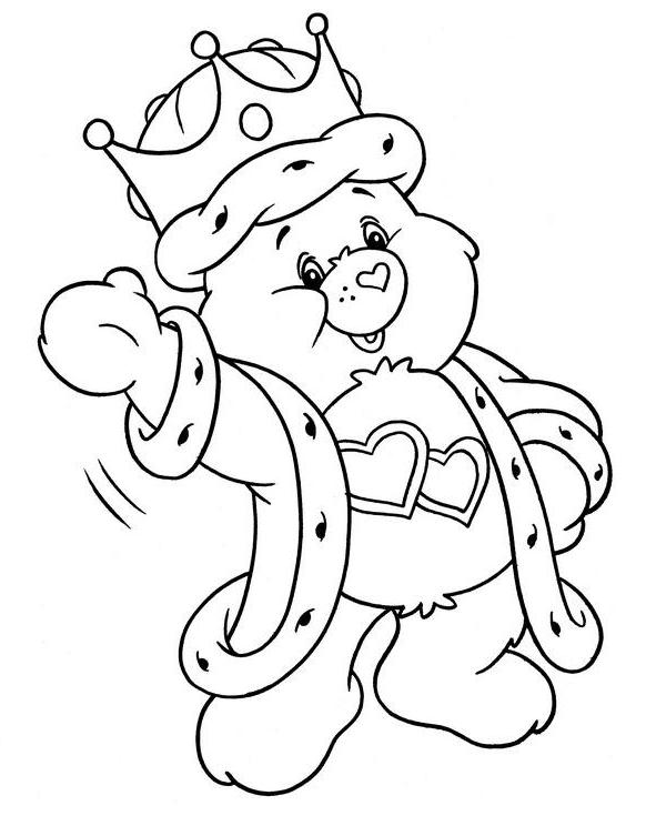 littlecare bear coloring pages - photo#6
