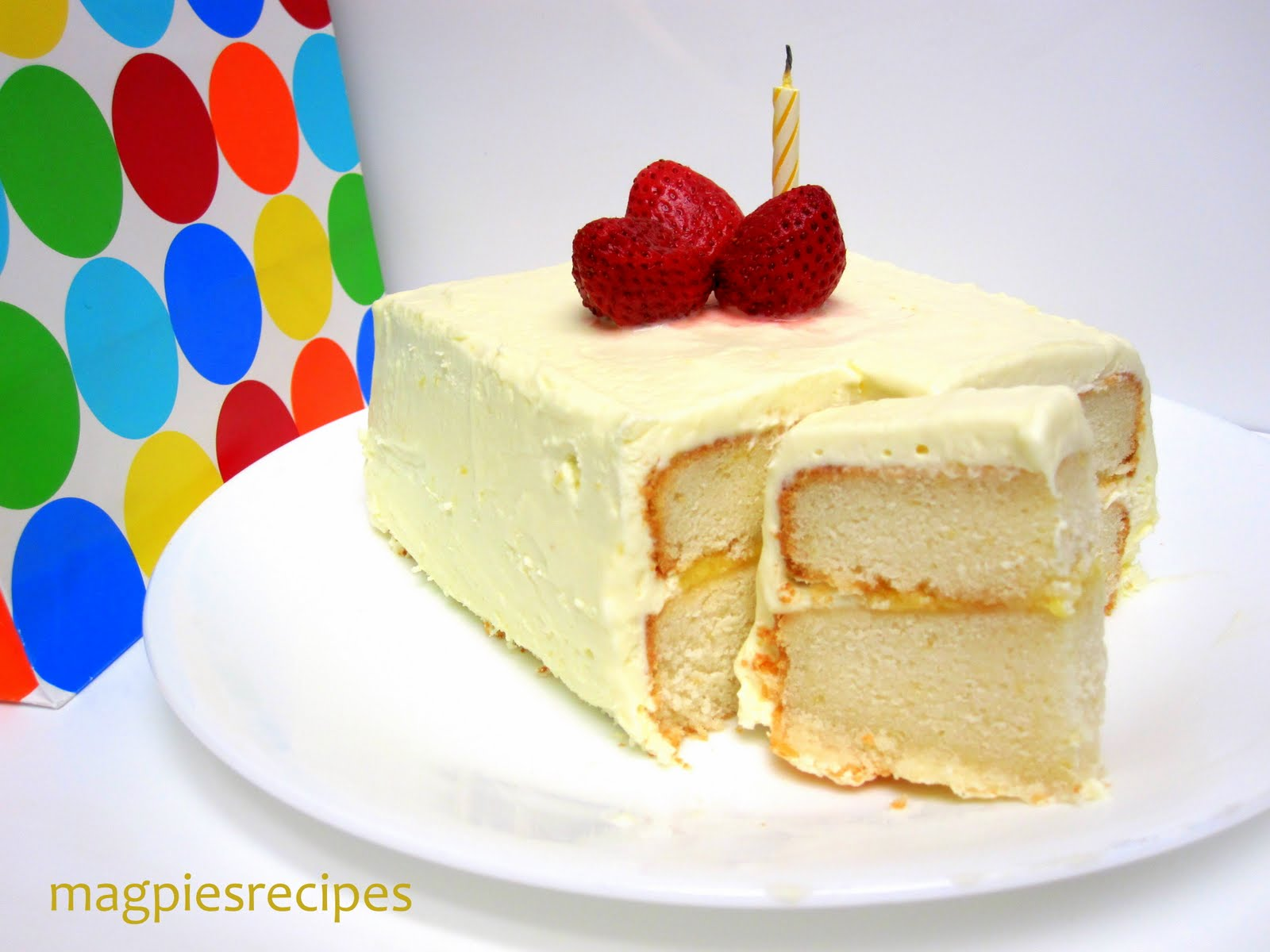 Magpie's Recipes: Dorie's Perfect Party cake- Lemonized for a bright ...