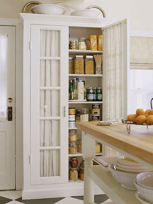 The shabby chic mess kitchen pantry - Kitchen pantry cabinets freestanding ...