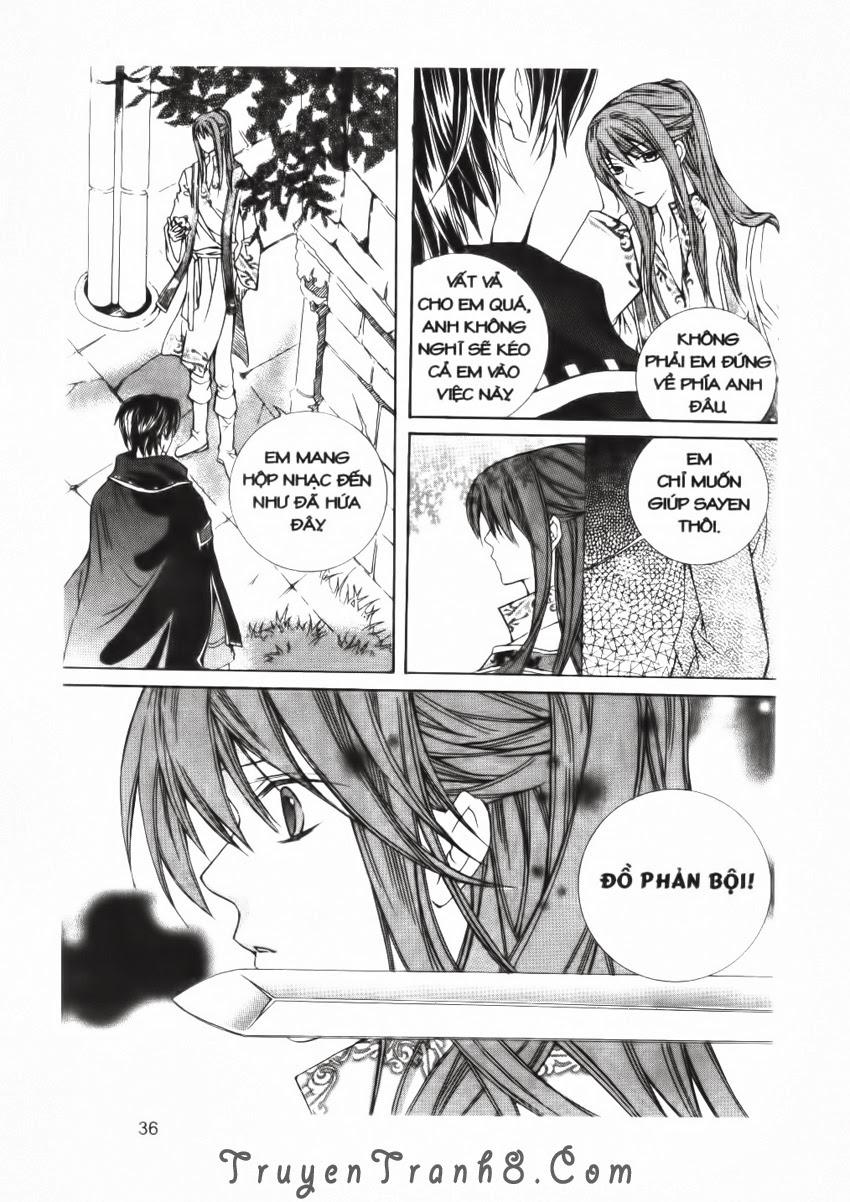 A Kiss For My Prince - Nụ Hôn Hoàng Tử Chapter 17 - Trang 37