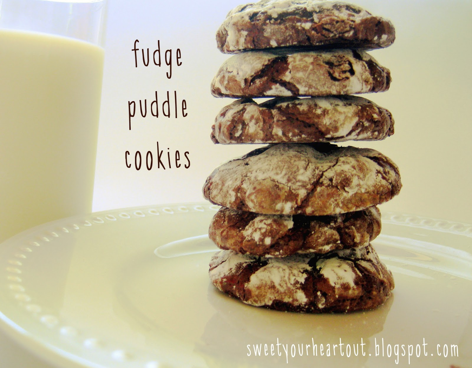 Sweet Your Heart Out: Fudge Puddle Cookies (gluten free!)