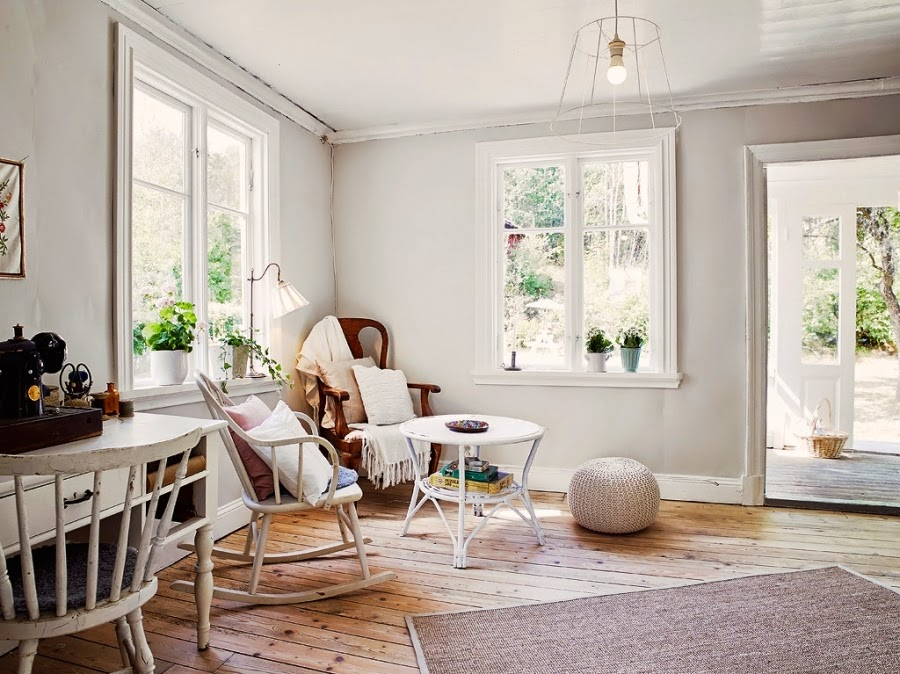 dom, wystrój wnętrz, wnętrza, home decor, styl skandynawski, białe wnętrza, shabby chic, salon