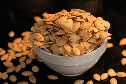 Roasted Pumpkin Seeds. (Photo by Brian Jackson)