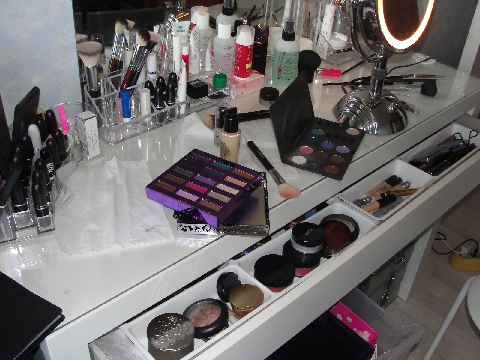 My little make up   blog de beauté: mon rangement make up ... que ...