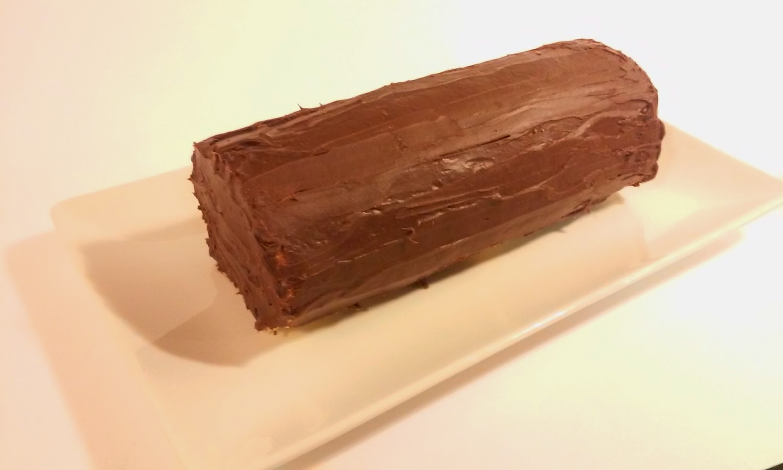 receta brazo de gitano de chocolate