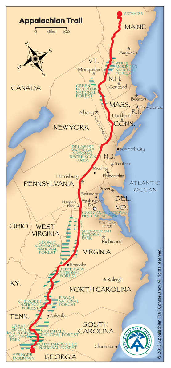 appalachian trail new jersey map with Sunday Evening Pictures From on Washington State Woman Starts Bigfoot additionally North Carolina also New Bike Greenway Stretching From Florida To Maine Is 31  plete additionally Nyctourist Map blogspot together with Prweb270408.