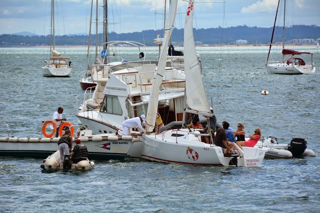 Puerto Nuestra Senora de la Candelaria sailing