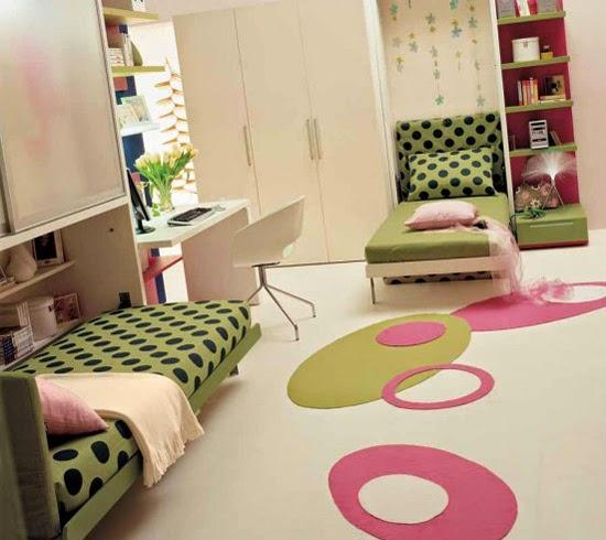 Kamar tidur anak minimalis modern 4