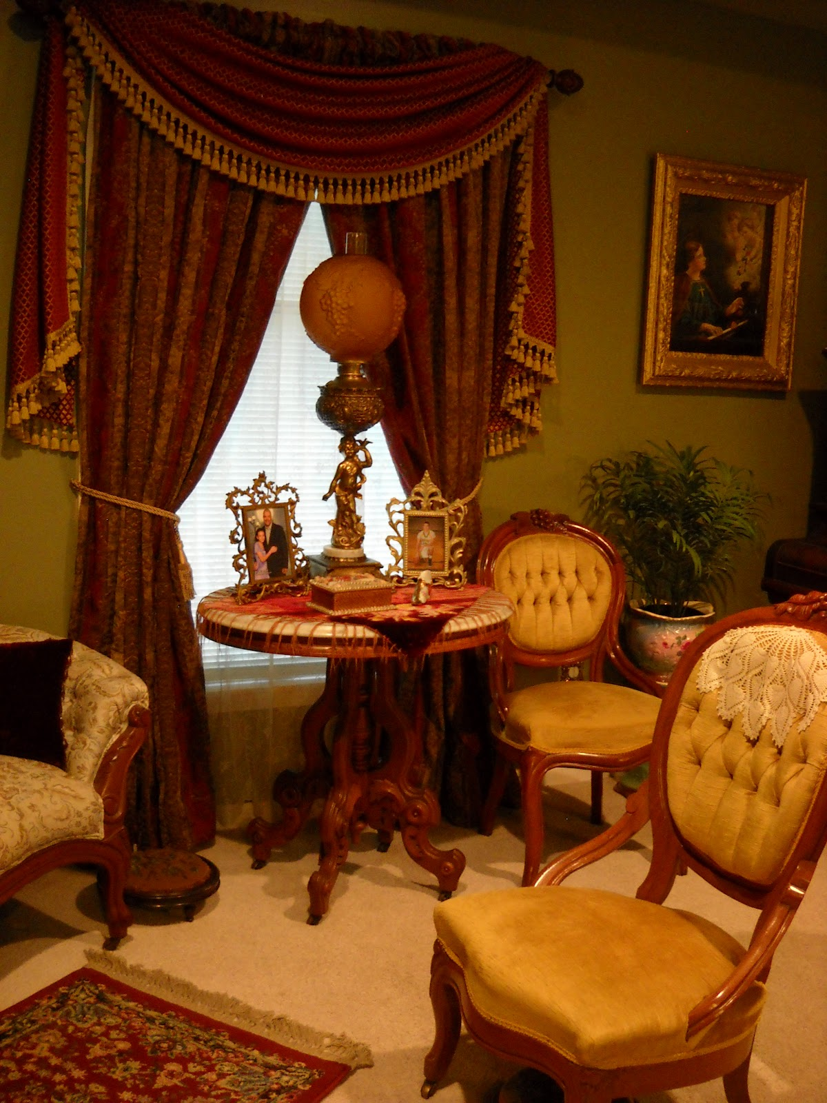 Victorian wanna be step into my parlor part 2 for Victorian decor