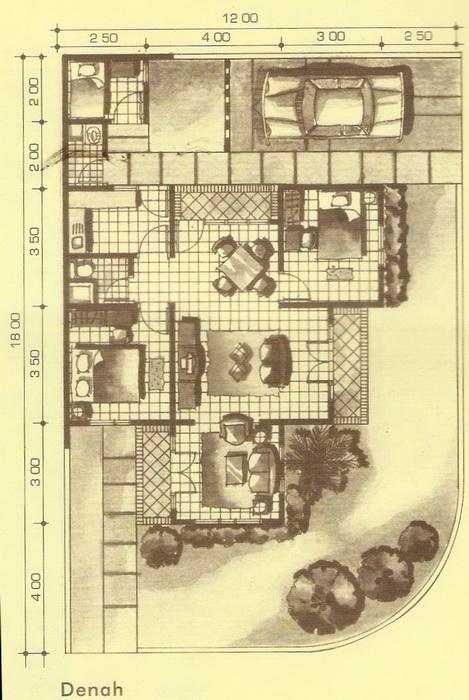 rumahku 1 tampak depan rumah minimalis type 80