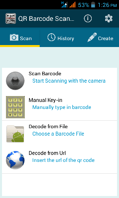 Qr Barcode Scanner for Android