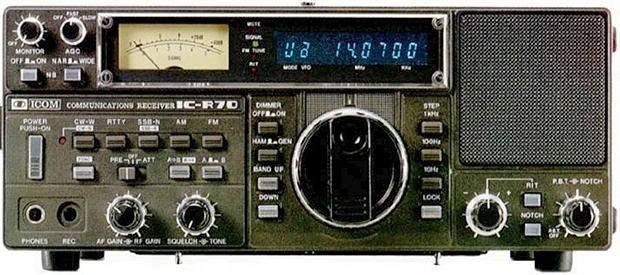 Icom IC R70