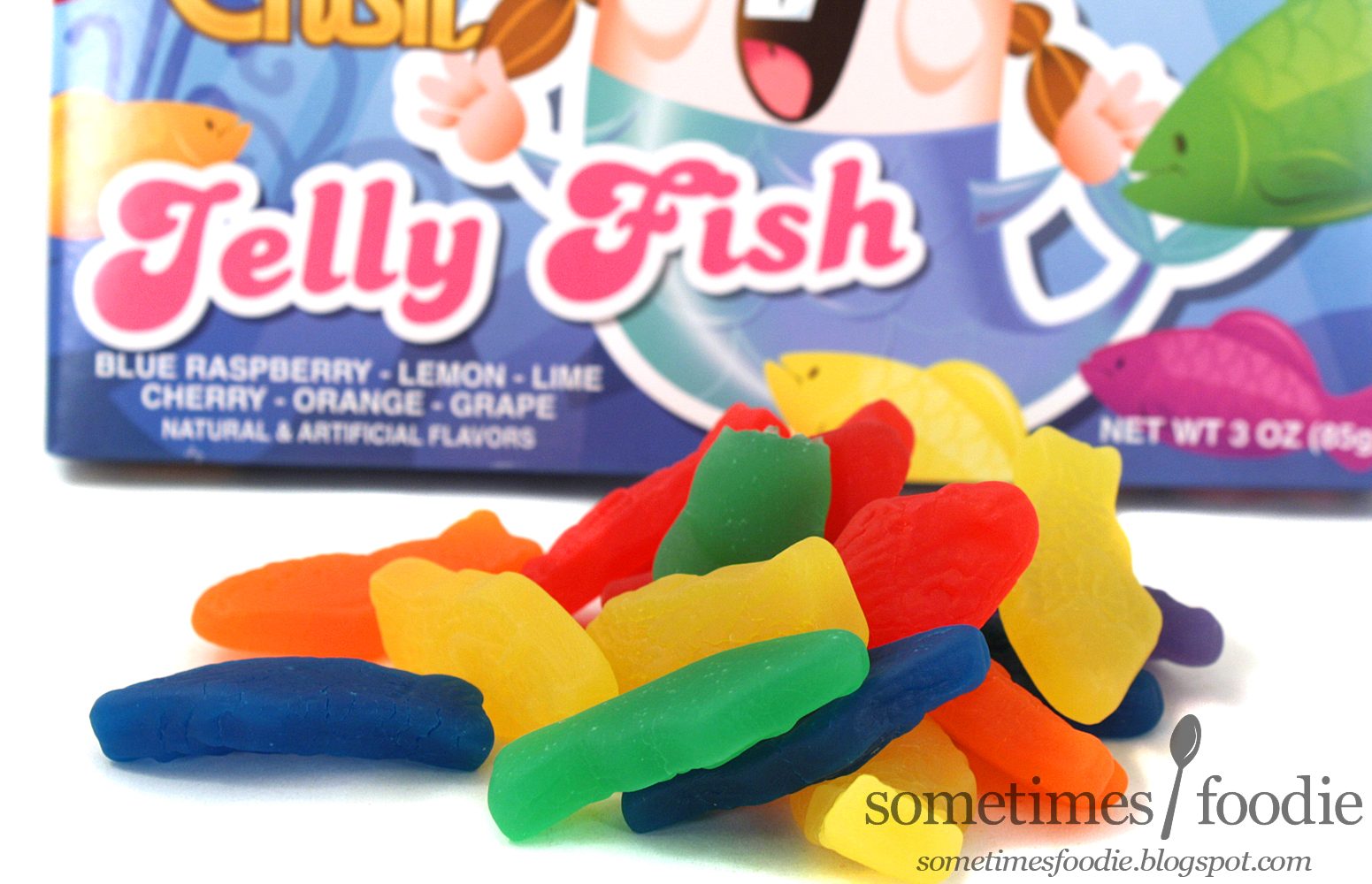 Sometimes foodie candy crush jelly fish gift for Candy crush fish