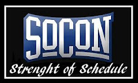 SoCon Strength of Schedule Rankings